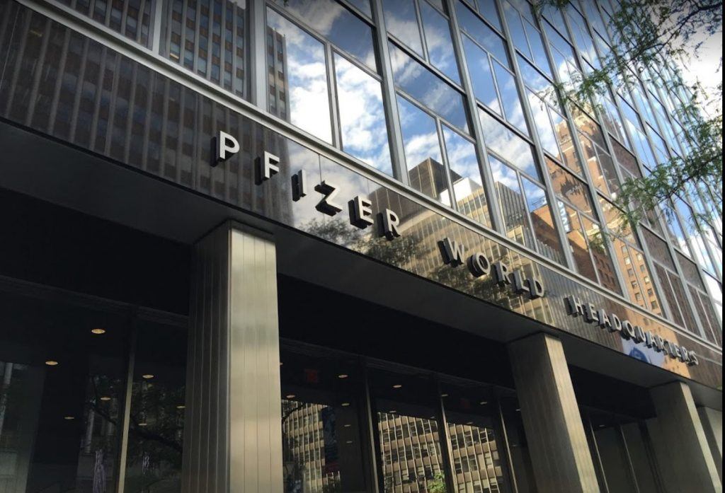 pfizer new york headquarters