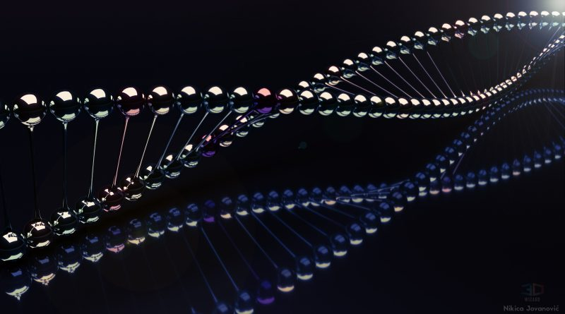 Gene therapy dna artist image