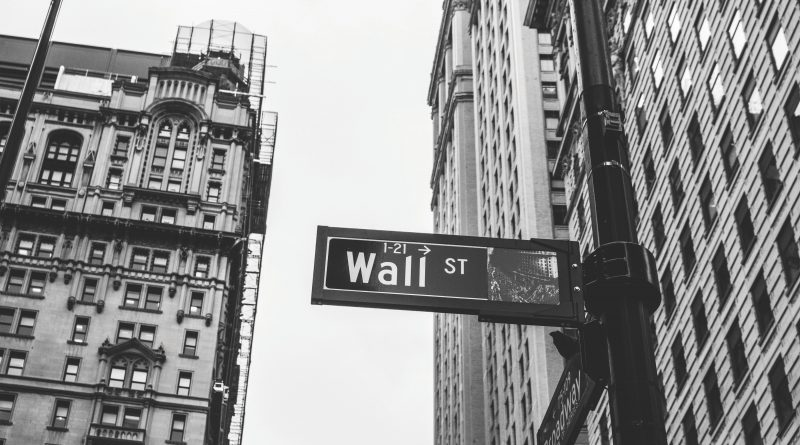 decorative wall street