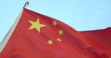 decorative china flag