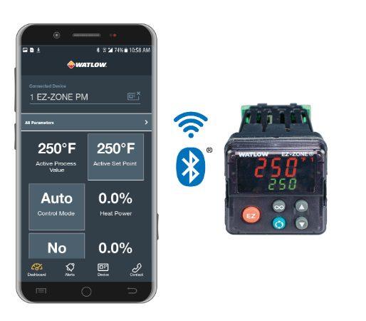 watlow's mobile app