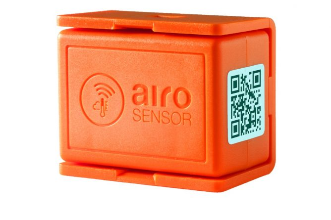 wireless supply and cold chain data logger