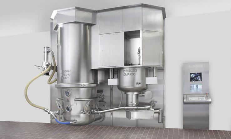 compact granulation system