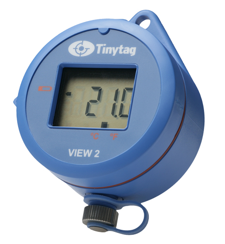 temperature and humidity data logger with digital display